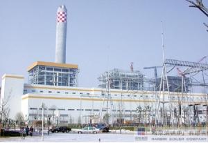 国内首台600MW超临界锅炉